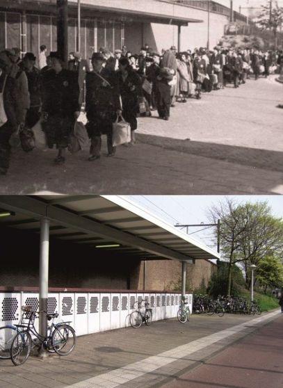 deportaties op station Muiderpoort, ca '44-'45